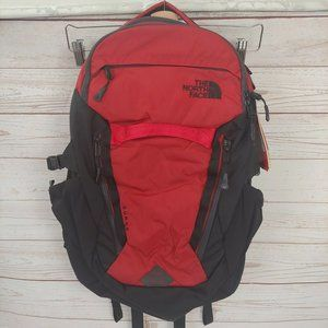 The North Face Surge Backpack Red & Black
